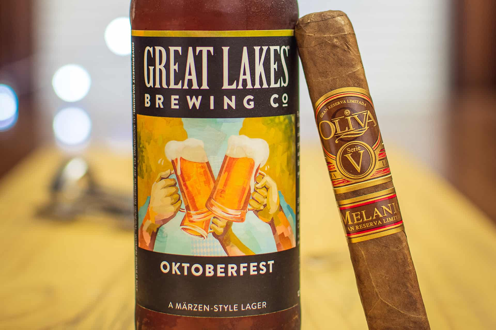 Great Lakes Brewing Co Oktoberfest Oliva Serie V Melanio Pairing